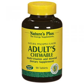Adult's Chewable Pineapple