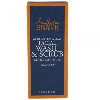 African Black Soap Facial Wash Scrub