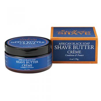 African Black Soap Shea Shave Butter Creme