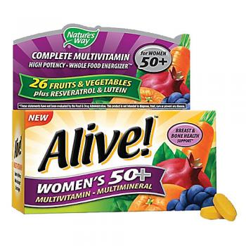 Alive Womens 50+ Multivitamin Multimineral