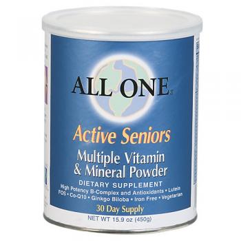 All One Active Seniors Multiple Vitamin Mineral