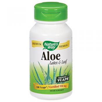 Aloe Vera Latex Leaf