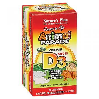 Animal Parade Vitamin D3