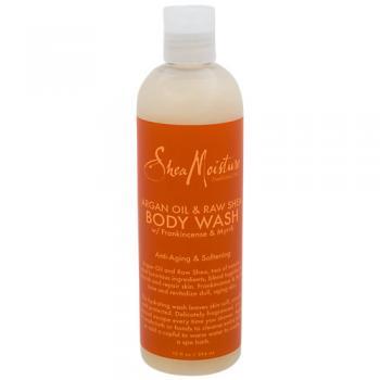 Argan Oil and Raw Shea Body Wash