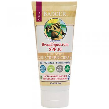 Badger SPF Unscented Sunscreen