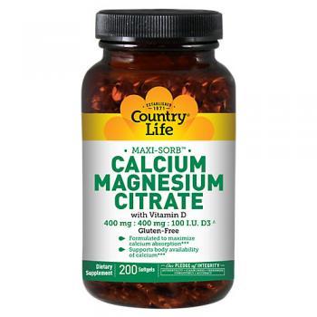 Calcium Magnesium Citrate with Vitamin D
