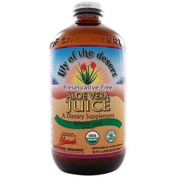Certified Organic Whole Leaf Aloe Vera Juice