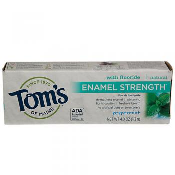 Enamel Strength Toothpaste with Fluoride