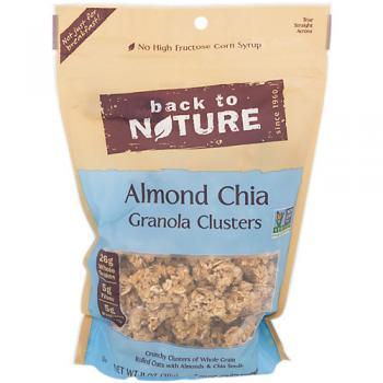 Granola Clusters Almond Chia
