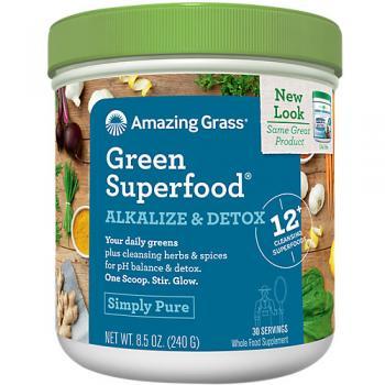 GREEN SUPERFOOD ALKALIZE DETOX
