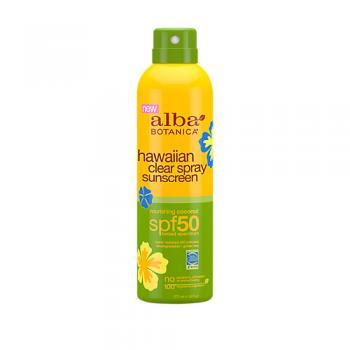 Hawaiian Clear Spray Sunscreen SPF 50