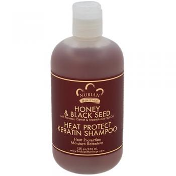Honey Black Seed Heat Protect Keratin Shampoo