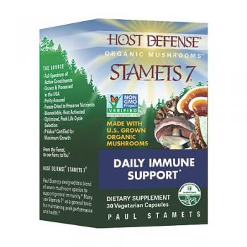 Host Defense Stamets 7 Daily Immune Support