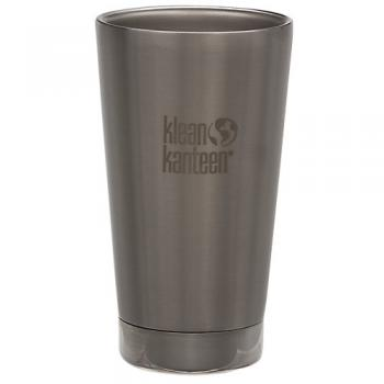 Insulated Pint Cup Brushed Stainless
