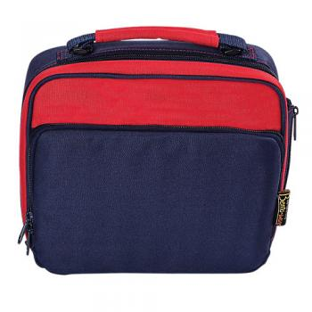 Lunch Tote Navy and Red