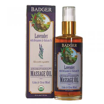 Massage Oil With Bergamot Balsam