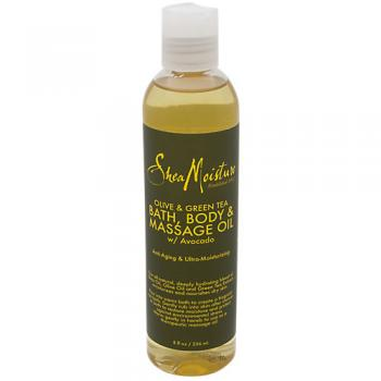 Olive Green Tea Bath Body and Massage