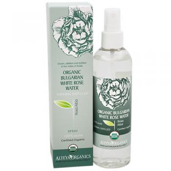 Organic Bulgarian White Rose Water Thermal Distill