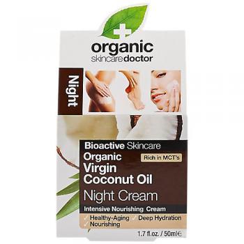 Organic Coconut Oil Night Cream