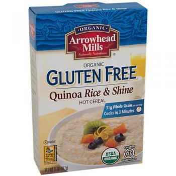 Organic Gluten Free Quinoa Rice and Shine Cereal