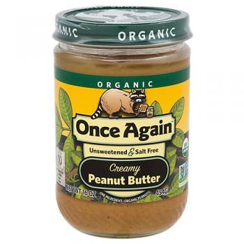 Organic Peanut Butter Creamy No Salt