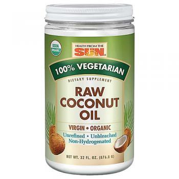 Organic Raw Virgin Coconut Oil