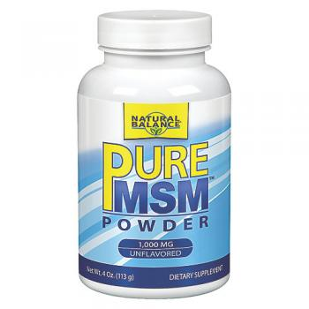 Pure MSM Powder