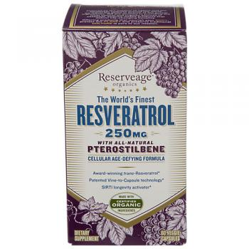 Resveratrol With All Natural Pteros