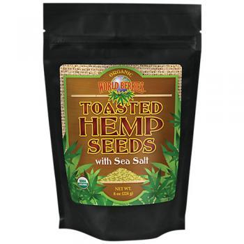 Toasted Hemp Seeds With Sea Salt
