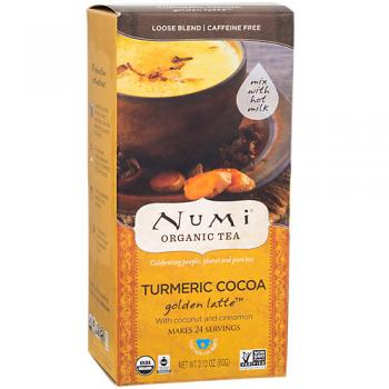 Turmeric Cocoa Latter with Coconut and Cinnamon