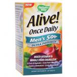 Alive Once Daily Mens 50+ Ultra Potency