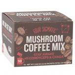 Chaga Mushroom Coffee with Cordyceps Drink Mix