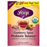Cranberry Spice Probiotic Balance Tea