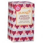 Elderberry and Echinacea Tea with Elderflower
