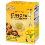 Ginger Honey Crystals with Lemon