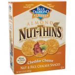 Nut Rice Cracker Snacks Cheddar Cheese