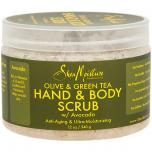 Olive Green Tea Hand and Body Scrub