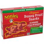 Organic Bunny Fruit Snacks Summer Strawberry