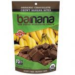 Organic Chocolate Chewy Banana Bites