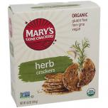 Organic Crackers Herb