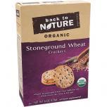 Organic Stoneground Wheat Crackers