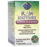 Raw Enzymes For Women 50 Wiser