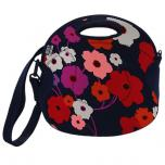 Spicy Relish Lush Flower Lunch Tote with Strap