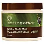 Tea Tree Oil Facial Cleansing Pads
