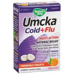 Umcka Cold + Flu Orange Chewab