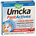 Umcka Fastactives Cold Relief Cherry