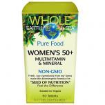 Whole Earth Sea Womens 50+ Multivitamin