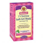 Women's 73 Nutrient Soft Gel Multivitamin