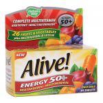 Alive Energy 50+ Multi, High Potency