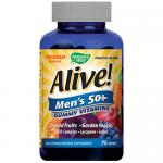 ALIVE Mens 50+ Gummy Vitamins